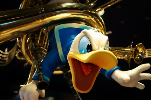 Starring Donald Duck by Bob Owen