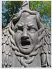 Medusa - Skulptur im Schlossgarten in Schwetzingen
