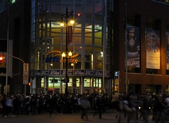 Jets Night - Crowd outside MTS Centre
