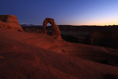 Delicate Arche (USA) (thomsen77) Tags: travel usa abstract america canon photography eos utah us photo nationalpark flickr arches roadtrip 7d moab moonlight traveling archesnationalpark delicatearche archesstatepark eos7d archeatnight