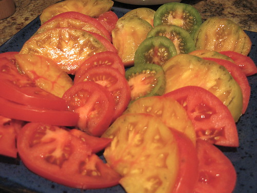 Heirloom Tomatoes by susanvg