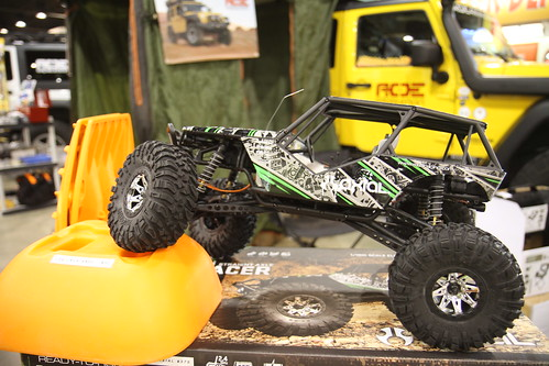 AOE / Axial Wraith at Off Road EXPO 2011
