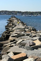 On the Jetty (Read2me) Tags: ocean she stone harbor rocks jetty frombehind gamewinner challengeyouwinner friendlychallenges thechallengefactory pregamewinner