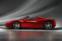 Ferrari 458 Italia Spider Video review and pictures