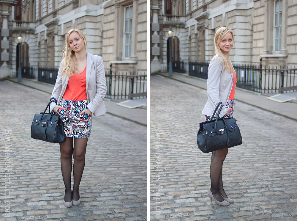 Street Style - a German intern in London