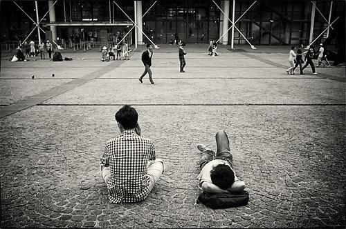 Les pavés de Beaubourg (1)