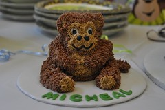 "Monkey smash cake for 1 year old • <a style=""font-size:0.8em;"" href=""http://www.flickr.com/photos/60584691@N02/6248704306/"" target=""_blank"">View on Flickr</a>"