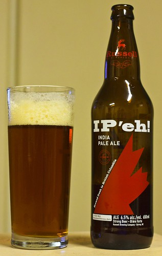 Review: Russell IP'eh India Pale Ale by Cody La Bière