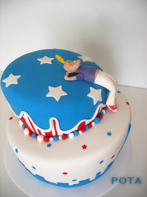 t5Gâteau Titef à New York, Topsy Turvy Cake