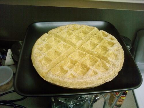 Fluffy Coconut Waffle 2