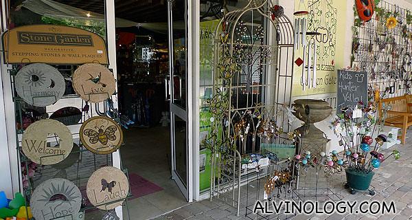 The Hunter Valley Garden gift shop