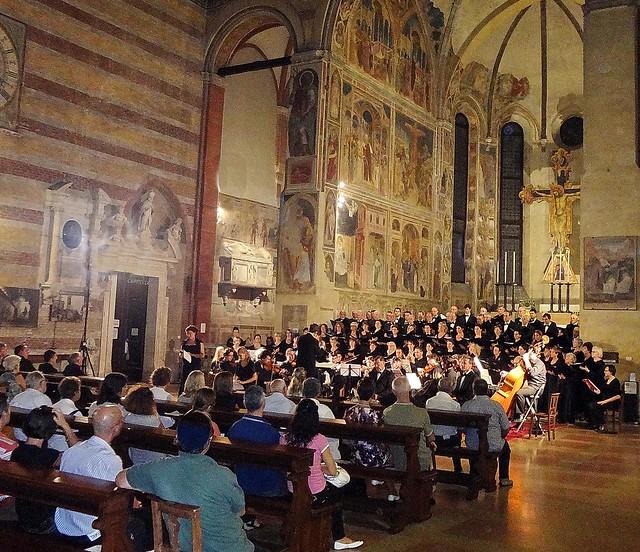 Padova, Chiesa degli Eremitani. Pacem in Terris
