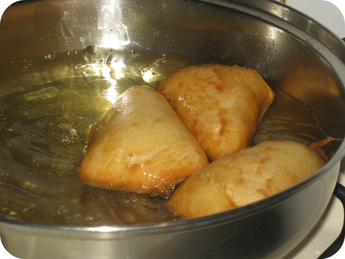 Frying Sopapillas