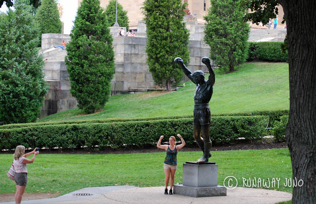 Philly Rocky Statue
