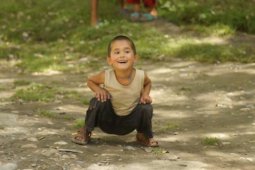Some little Tajik kid
