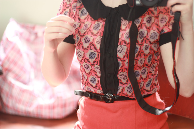 peter pan collar black