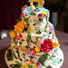 Little Insects Wedding Cake. Photo by Orange Photography
