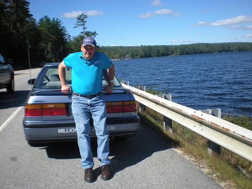 Joking Joe: Pushing his Honda Accord