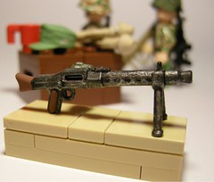 Maschinengewehr 34 (MG 34) LEGO (MR. Jens) Tags: world 2 soldier war lego wwii mg german prototype weapon ww2 34 proto maschinengewehr brickarms