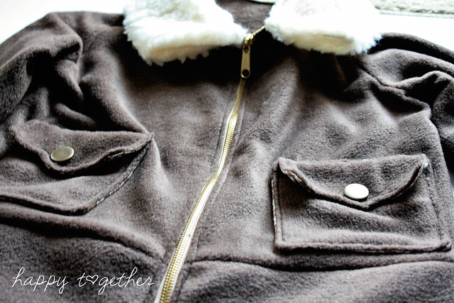 Fleece Aviator Jacket