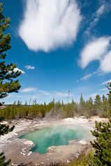 Emerald Spring, Norris Geyser Basin (HubbleColor {Zolt}) Tags: basin yellowstonenationalpark yellowstone wyoming geyser geothermal norris emeraldspring