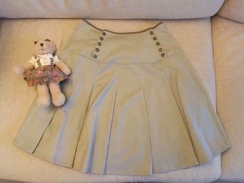 Classical Rose Skirt Front