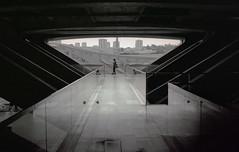 Oriente (Philippe Yong) Tags: bw 120 mamiya film analog mediumformat concrete kodak lisboa lisbon oriente analogue lisbonne mamiya7ii moyenformat 7ii mamiyaoriente philippeyong wwwpyphotographyfr