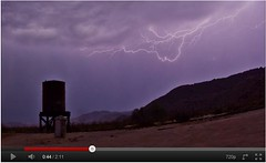 Watch the time lapse video: Time Lapse of Ominous Clouds and a Thunderstorm in Anza-Borrego Desert at Dos Cabezas Siding