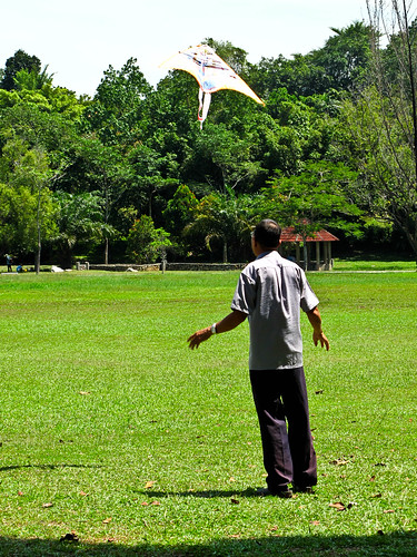 IMG_0570 Flying Kite , 放风筝,Polo Ground ,Ipoh