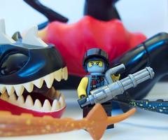 Minigun (Brickitect) Tags: dino contest minigun brickarms gibrick