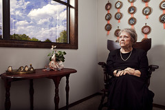 Portrait of A Grandmother (Zack Ahern) Tags: