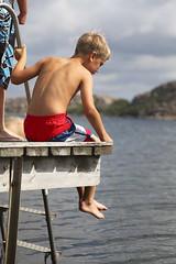 Västkusten (Anders Sellin) Tags: bridge boy summer vacation sitting sweden young sverige semester ung sommar brygga hunnebostrand västkusten sitta pojke ginordicsept