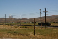 Sage, WY (El Busta) Tags: car train town ghost rail sage wyoming hopper