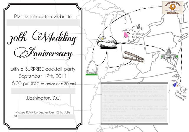 30th invite