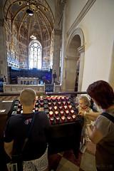 I pellegrini (Promix The One) Tags: basilica affreschi marche candele vetrate pellegrini religione canoneos1dsmarkii santacasa loretoan sigmadg1530f3545exasph