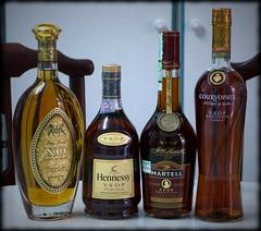 Eeny, meeny, miny, moe (NylanMana) Tags: brandy cognac martell courvoisier hennessy vsop