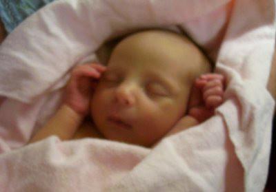 September 19, 2006 - Baby Hannah Rebekah