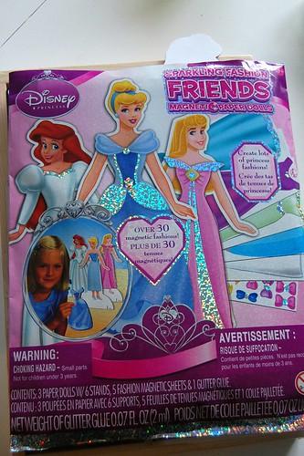 princess magnet paper dolls