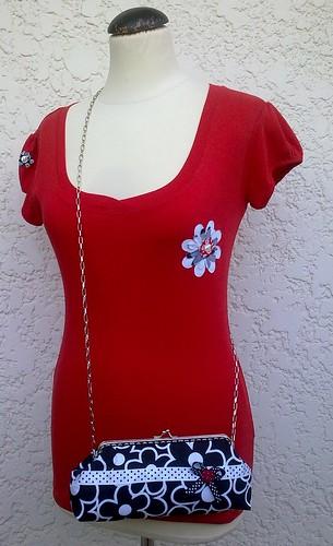 Cloucth em tecido  by ♥Linhas Arrojadas Atelier de costura♥Sonyaxana