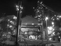DH-hochofen4 beim abstich (photobeam ( Better grays through research © )) Tags: germany hütte saarland dillinger steelwork hochofen dsd schwerindustrie