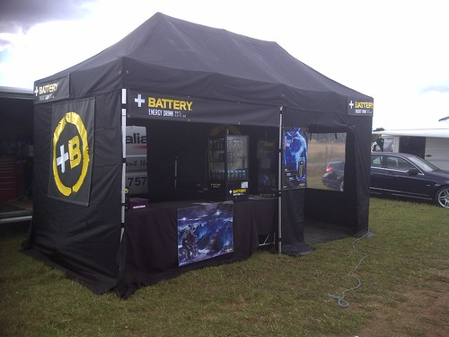 Battery Energy Drink crew out supporting MX in Ollerton, UK by Energy Drinks Ltd