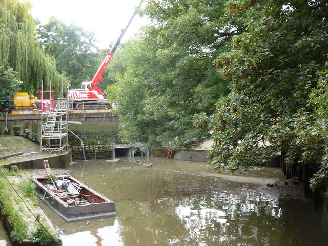 The Berveley Brook meets the Thames