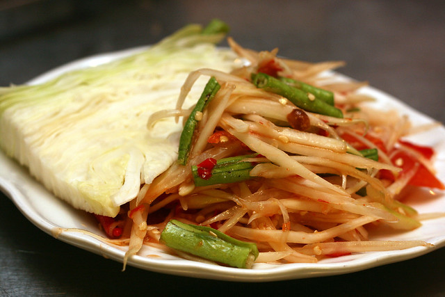 Som Tam (S$6) - Papaya Salad