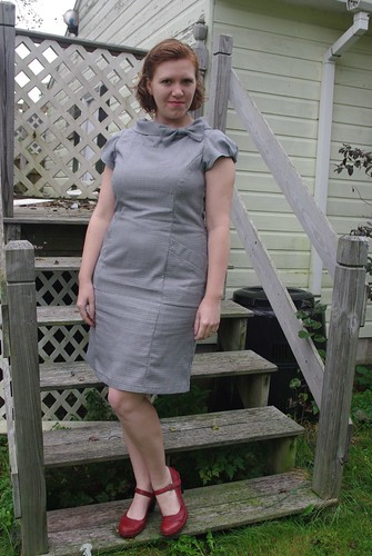 Fall Palette Challenge : Houndstooth Dress
