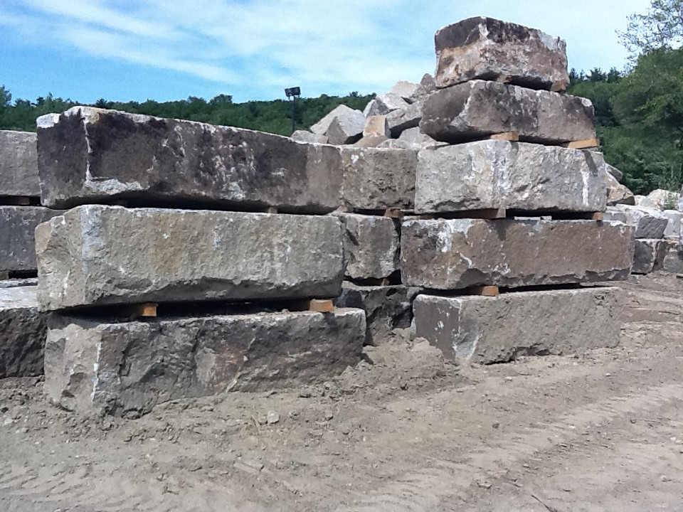 Reclaimed Granite Block