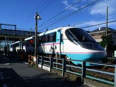 RSE going under Rt 246 (Matt-san) Tags: railroad japan private japanese asia tracks railway trains transportation rails odakyu odakyuelectricrailway photosjapan romancecars