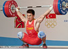 Liao Hui CHN 69kg (Rob Macklem) Tags: world men turkey championship antalya olympic weightlifting liao hui 2010 chn iwf 69kg