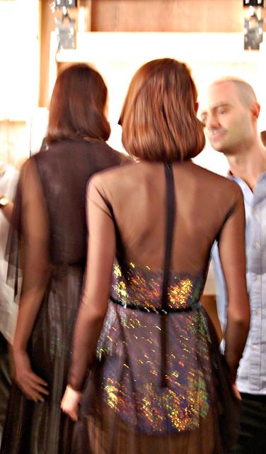 marios schwab backstage dresses