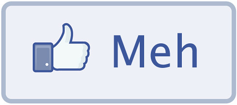 Facebook Meh Button by toodlepip, on Flickr
