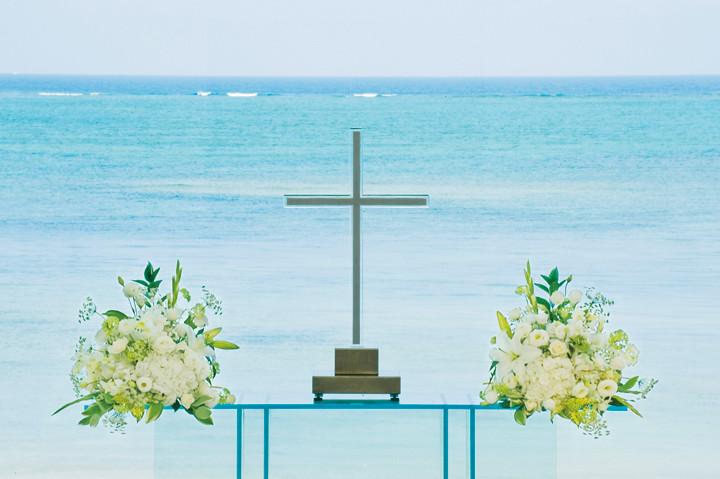 沖繩海外婚禮 Aquagrace Chapel 艾葵雅教堂